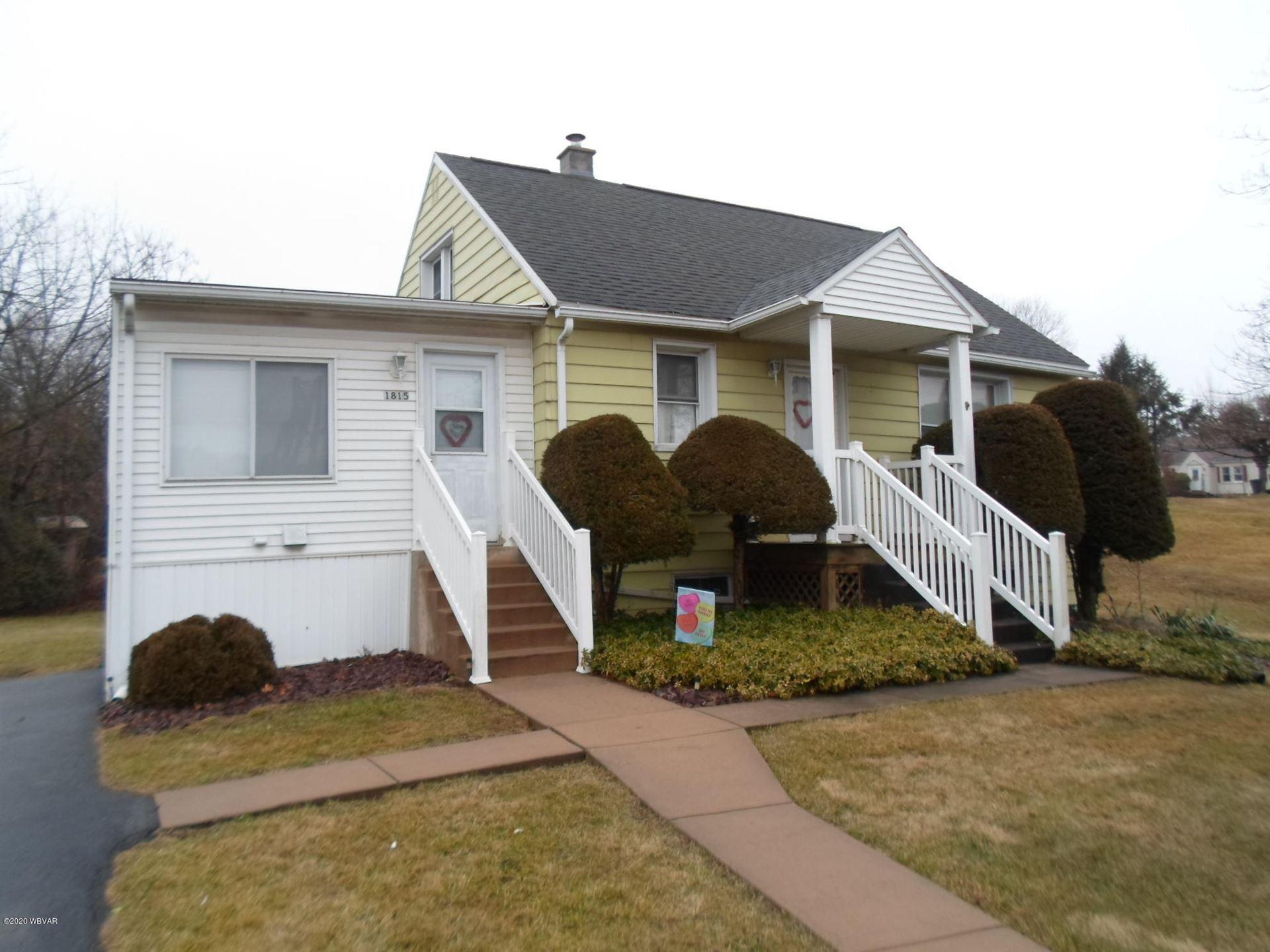 1815 DEWEY AVENUE, Williamsport, PA 17701 - #: WB-89536