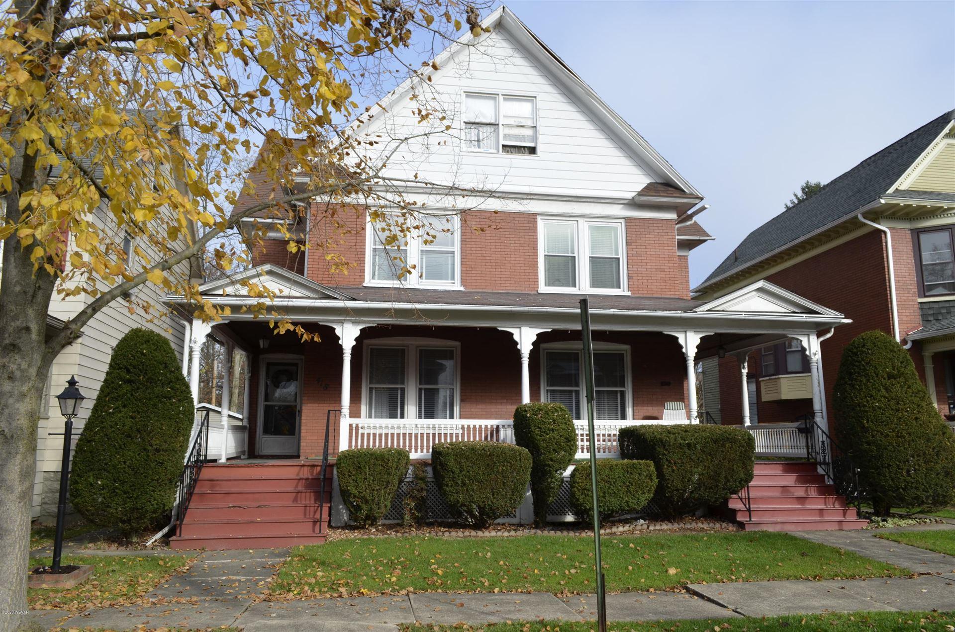 418 HAWTHORNE AVENUE, Williamsport, PA 17701 - #: WB-91538