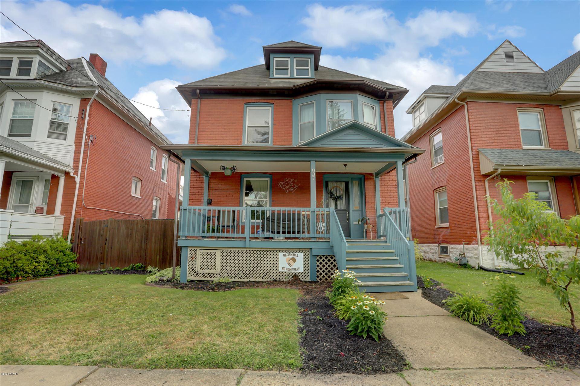 837 HIGH STREET, Williamsport, PA 17701 - #: WB-90562
