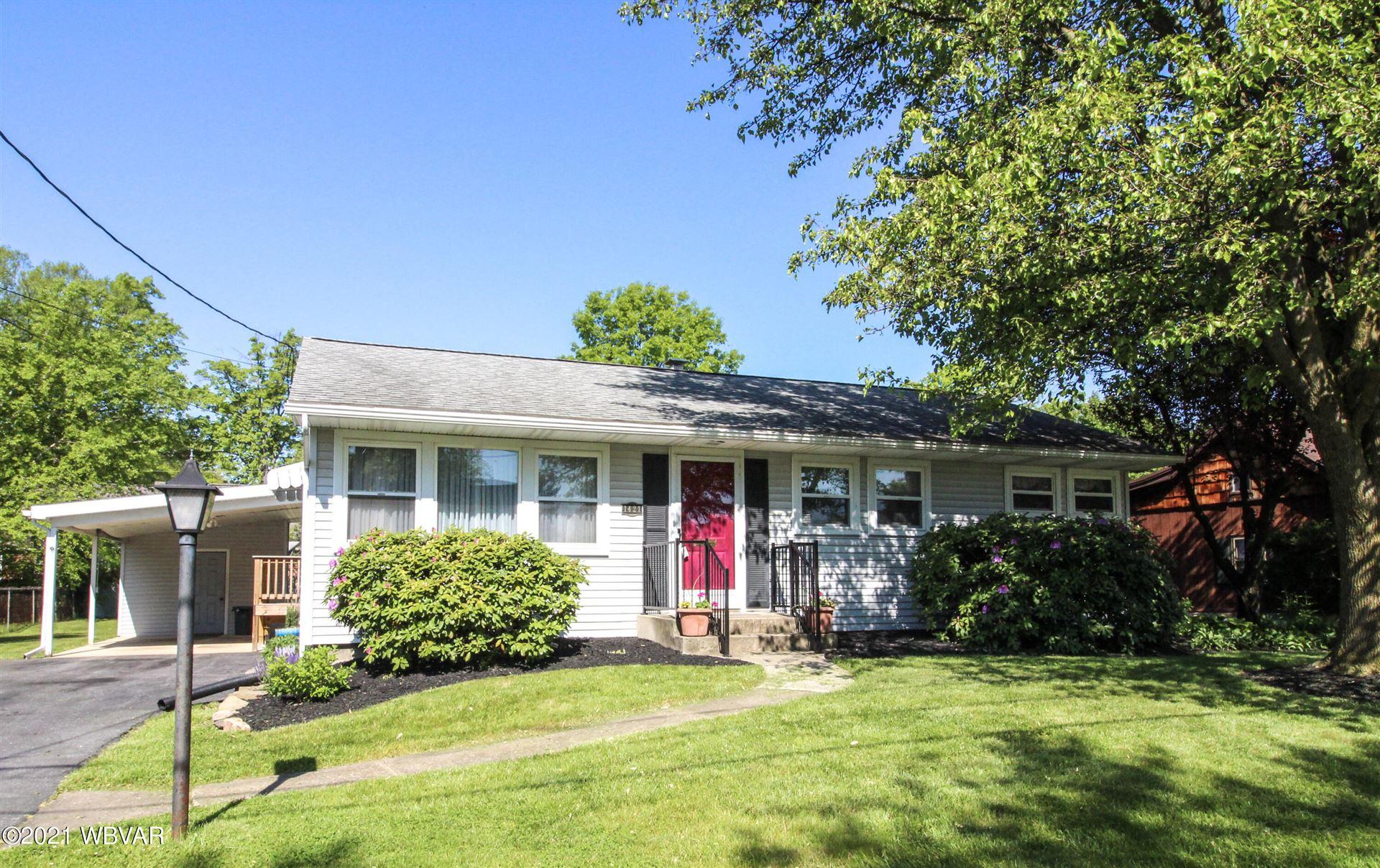 1421 RICHARDS AVENUE, Williamsport, PA 17701 - #: WB-92564