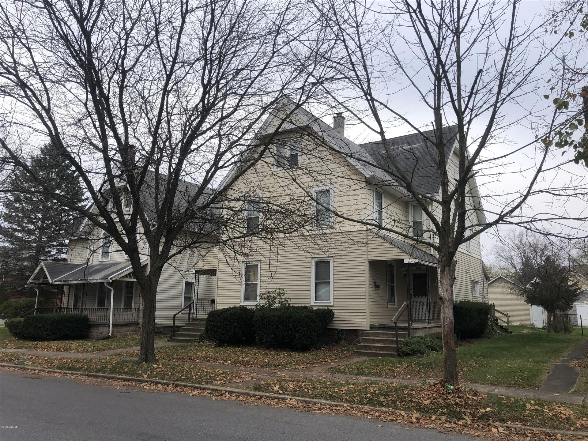 1443-1445 MEMORIAL AVENUE, Williamsport, PA 17701 - #: WB-91571