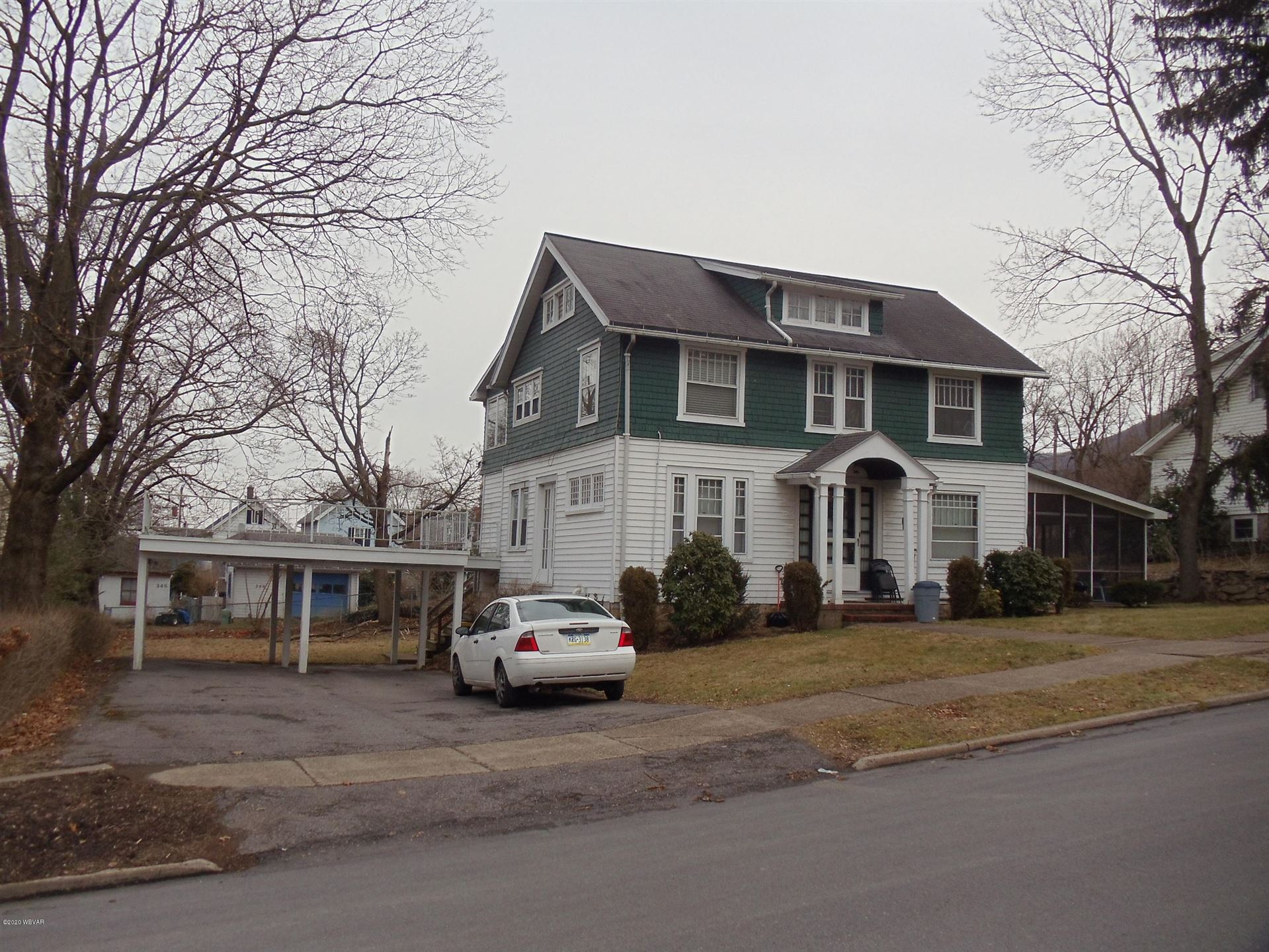 361 FISHER STREET, South Williamsport, PA 17702 - #: WB-89606
