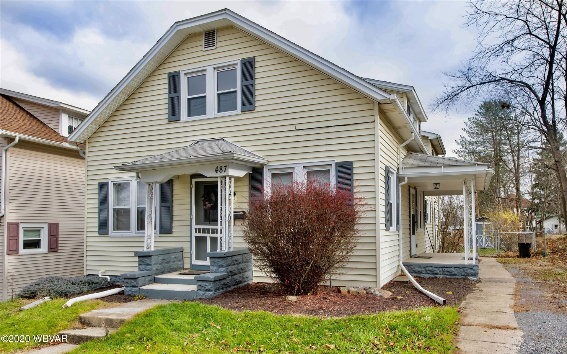 487 WINTHROP STREET, South Williamsport, PA 17702 - #: WB-91649
