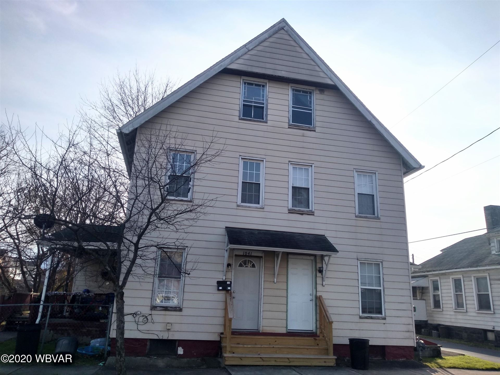 1041 1\/2 ISABELLA STREET, Williamsport, PA 17701 - #: WB-91655