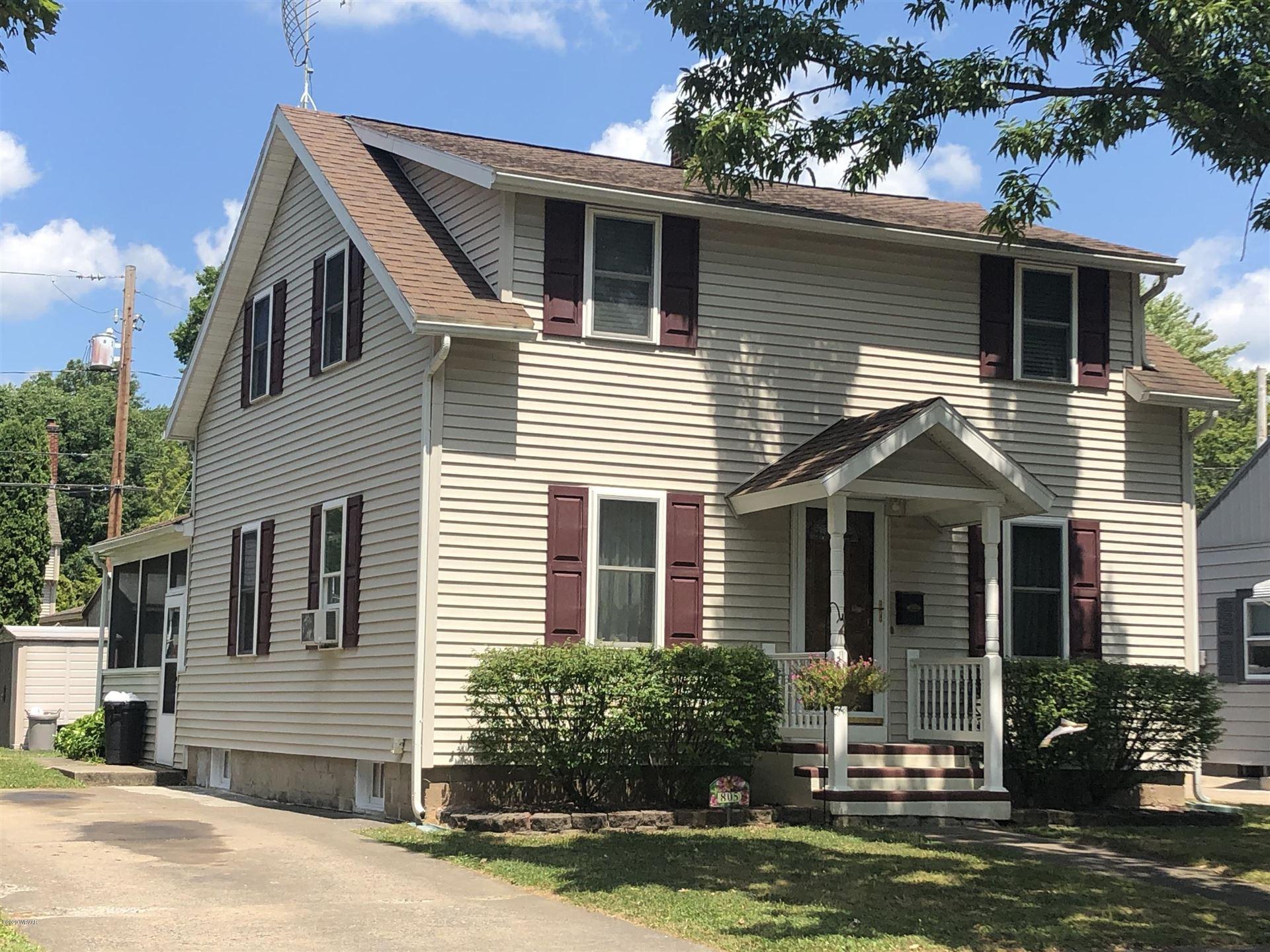 805 WOODLAND AVENUE, Williamsport, PA 17701 - #: WB-90703