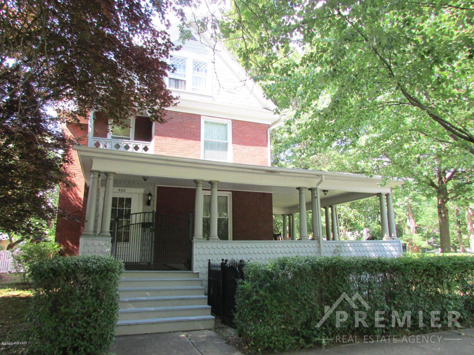 500 GLENWOOD AVENUE, Williamsport, PA 17701 - #: WB-90722