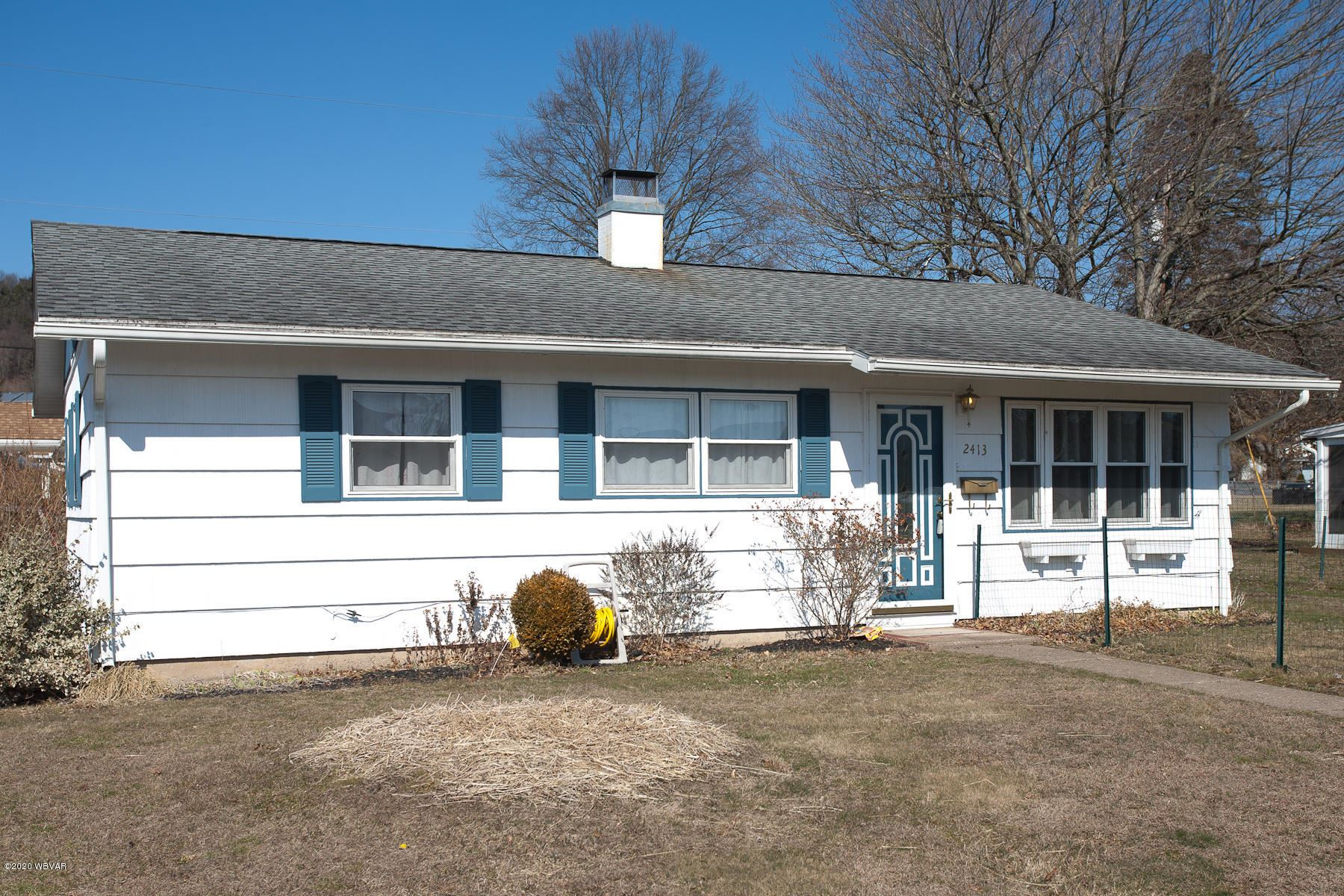 2413 RITCHEY STREET, Williamsport, PA 17701 - #: WB-89730