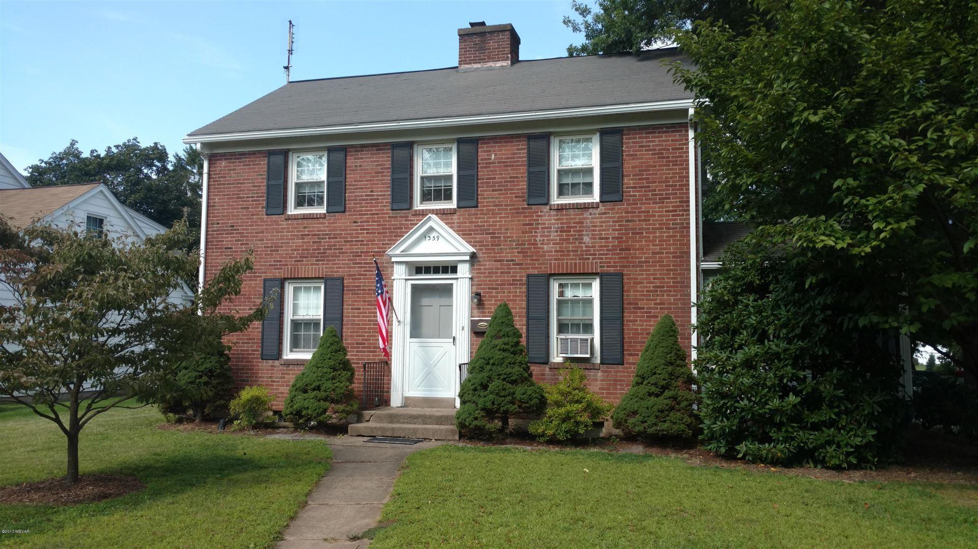1359 MANSEL AVENUE, Williamsport, PA 17701 - #: WB-81766