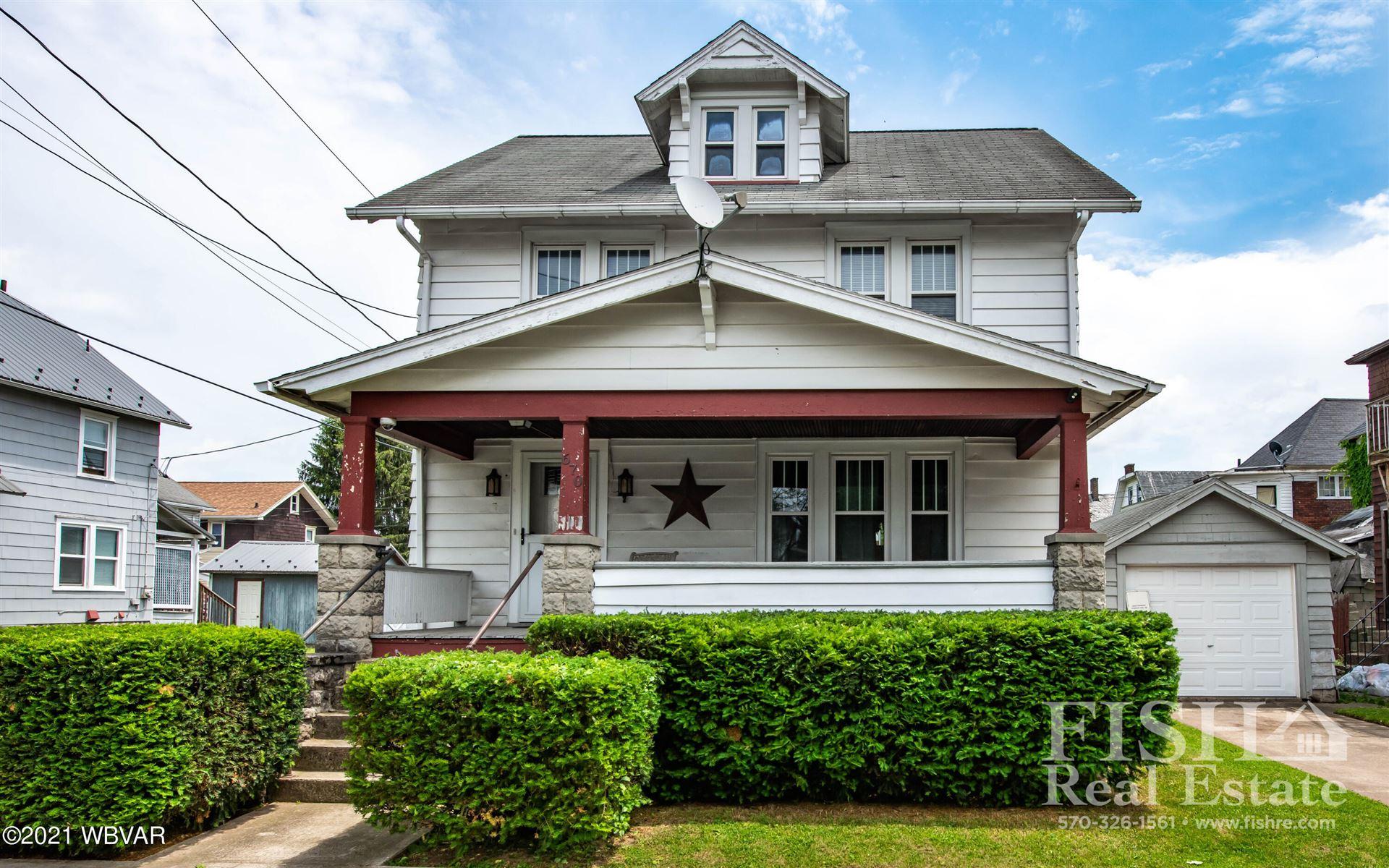 670 GRIER STREET, Williamsport, PA 17701 - #: WB-92849