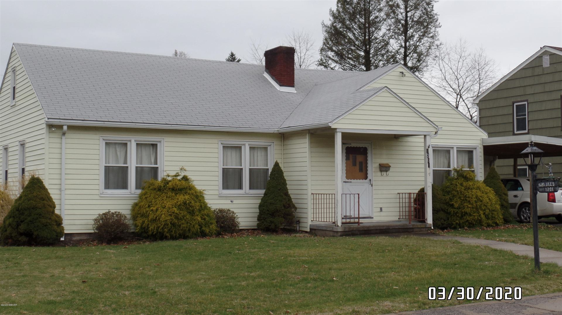 1201 LOSE AVENUE, Williamsport, PA 17701 - #: WB-89911
