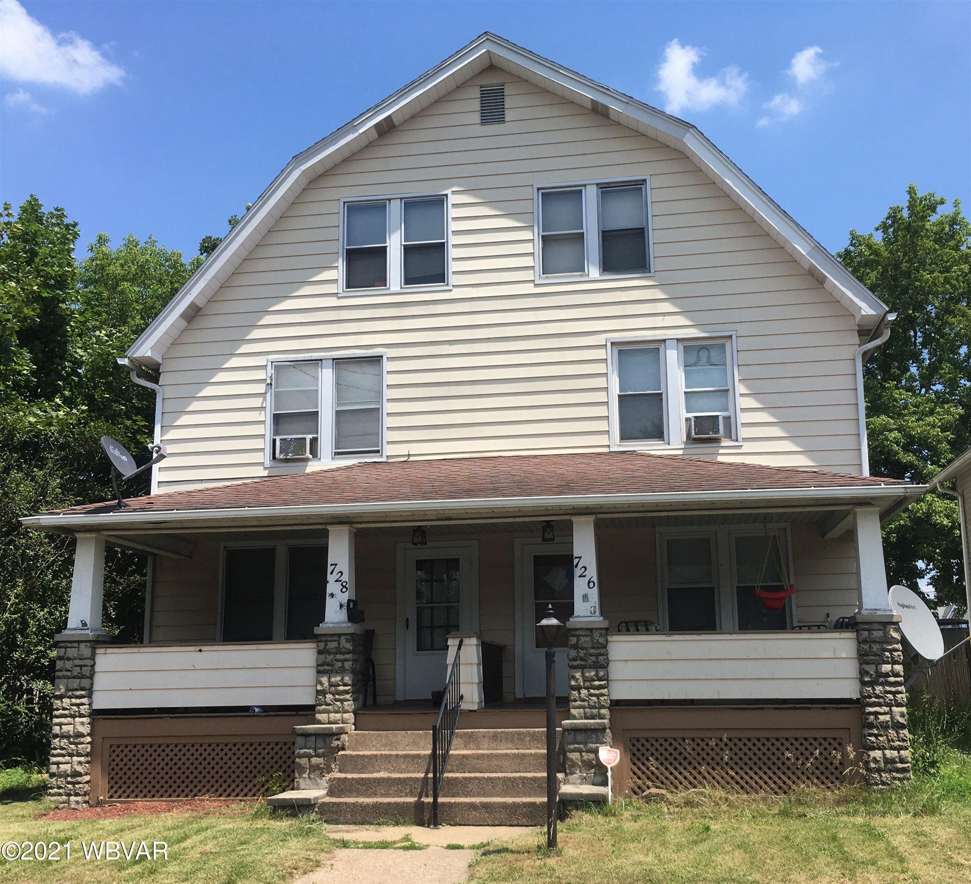726-728 POPLAR STREET, Williamsport, PA 17701 - #: WB-92919
