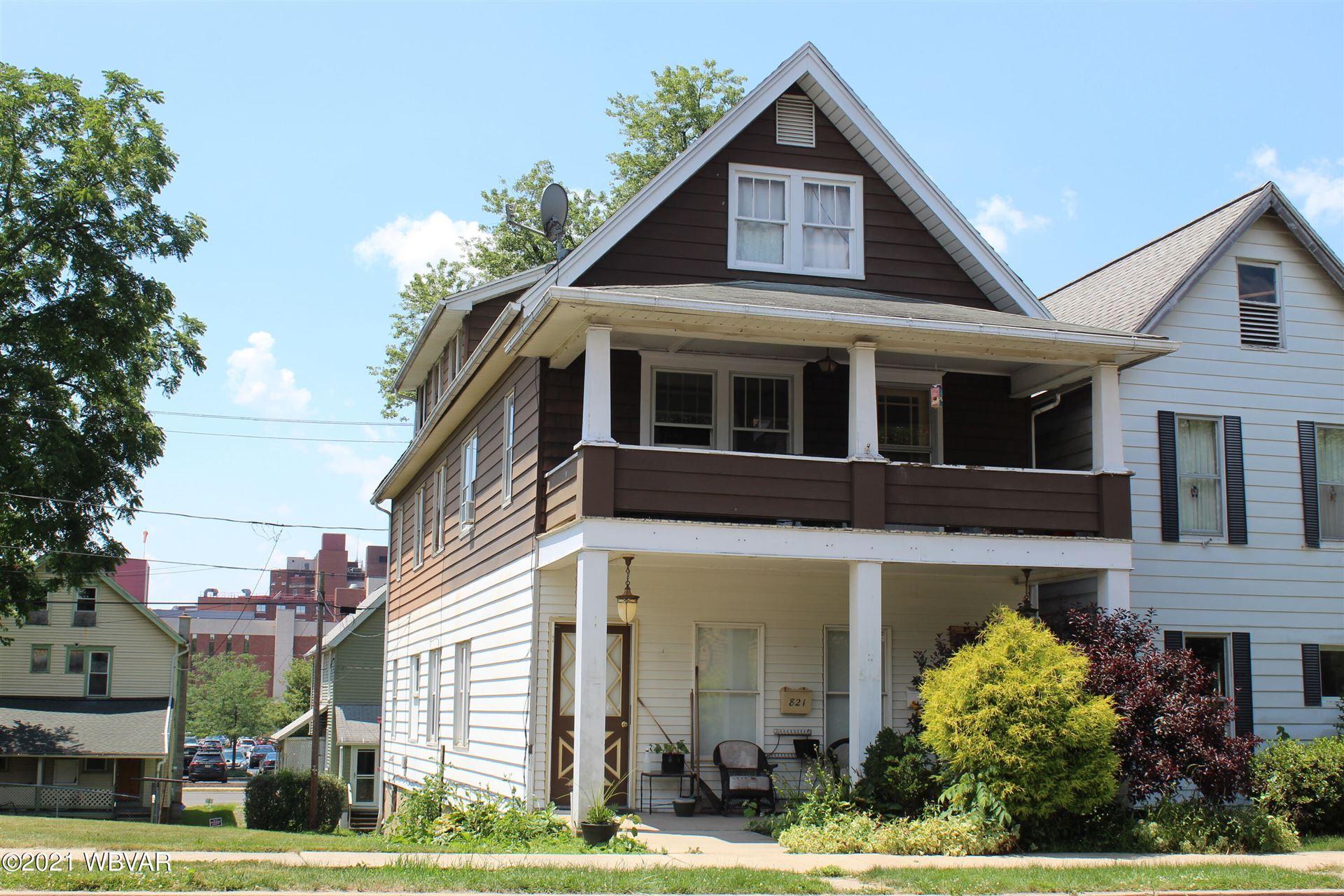 821 CHERRY STREET, Williamsport, PA 17701 - #: WB-92920