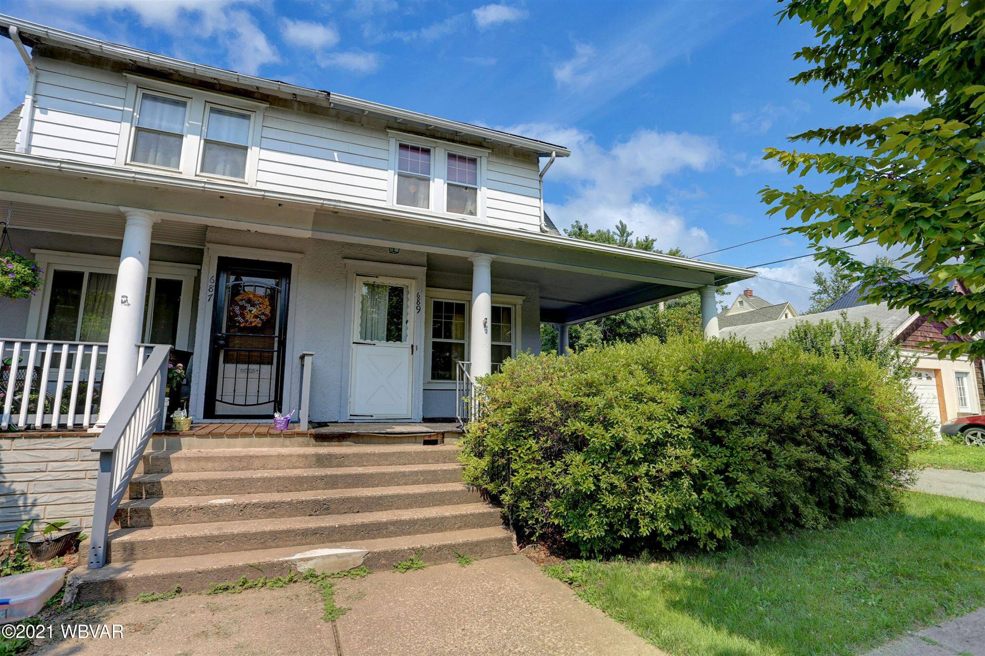 689 3RD AVENUE, Williamsport, PA 17701 - #: WB-92963