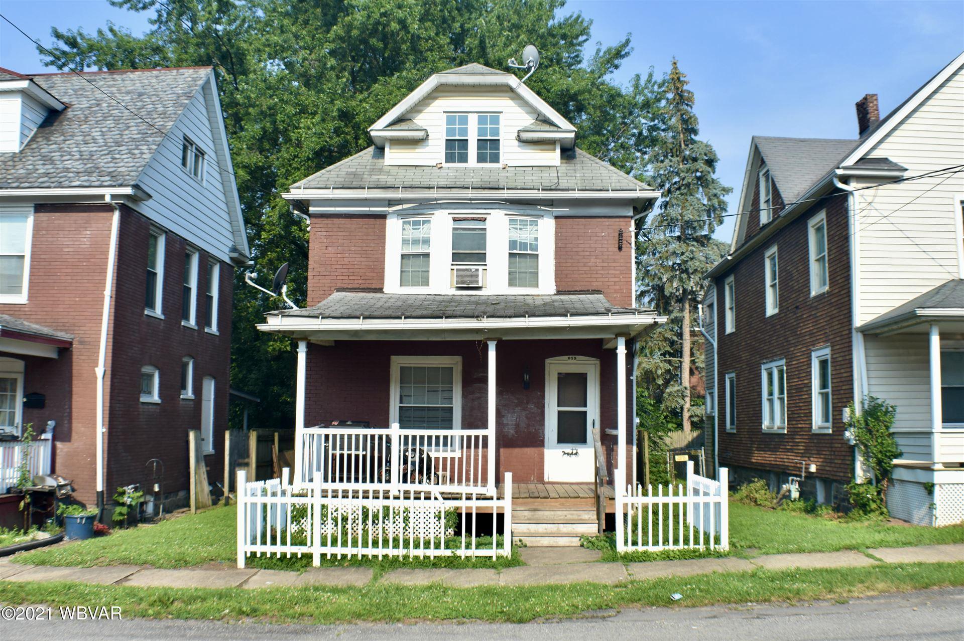 659 CENTER STREET, Williamsport, PA 17701 - #: WB-92968