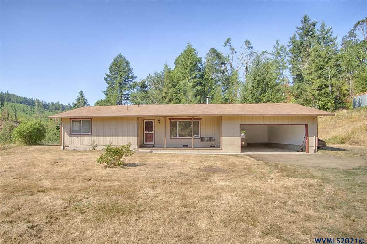 Photo of 39725 SW Fort Hill Rd, Willamina, OR 97396 (MLS # 783155)