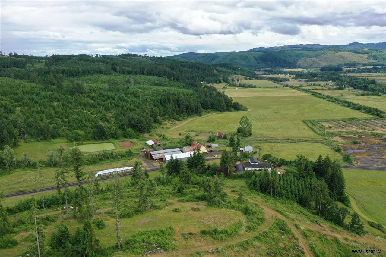 Photo of 9030-9040 Fort Hill Rd, Willamina, OR 97396 (MLS # 778973)