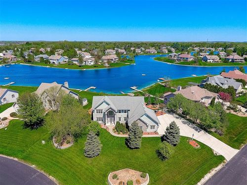 Photo of 420 Island View Ct, Dousman, WI 53118 (MLS # 1682054)