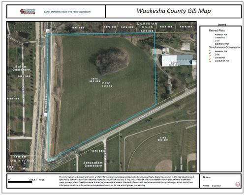 Photo of Lt0 Wales Rd #10 Acres, Wales, WI 53183 (MLS # 1571284)
