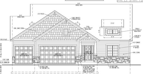 Photo of 807 Westwind Dr, Eagle, WI 53119 (MLS # 1735438)