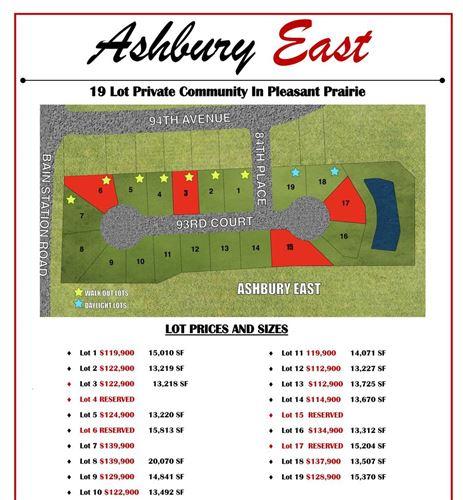 Photo of Lt4 Ashbury East, Pleasant Prairie, WI 53158 (MLS # 1726527)