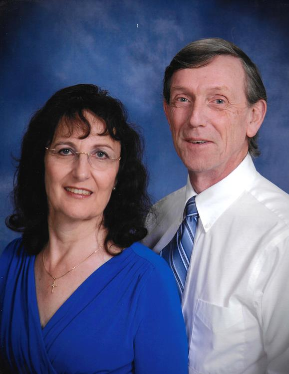 Peter and Martine Lusby