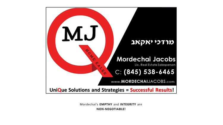 Mordechai Jacobs, Q Home Sales