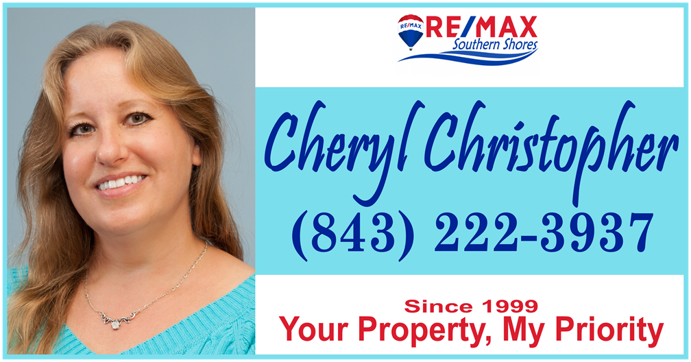 Cheryl Christopher, RE/MAX Southern Shores