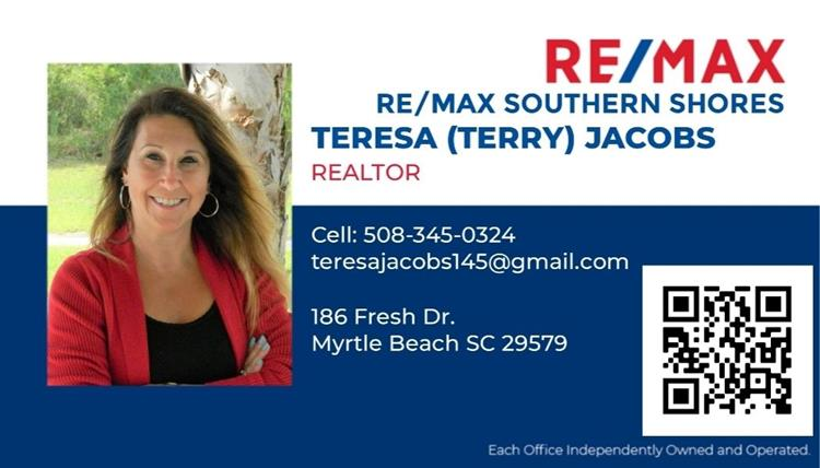 Terry Jacobs, RE/MAX Southern Shores