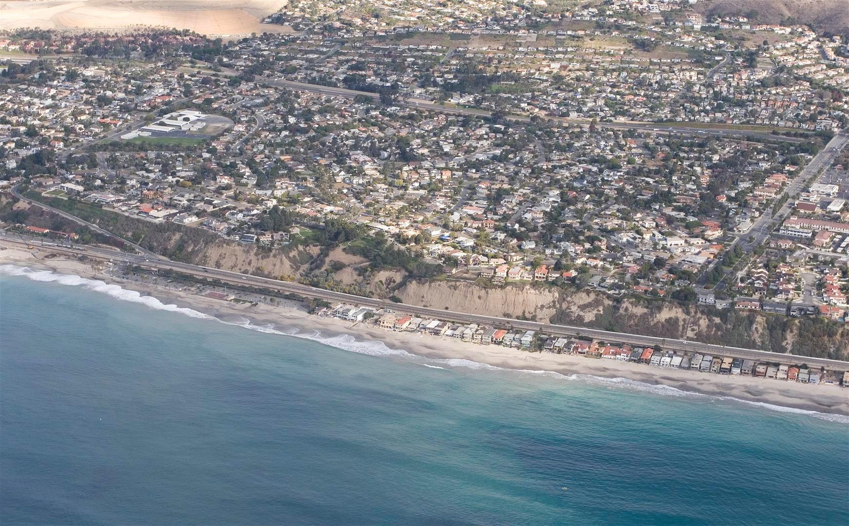 Capistrano Beach Coastline