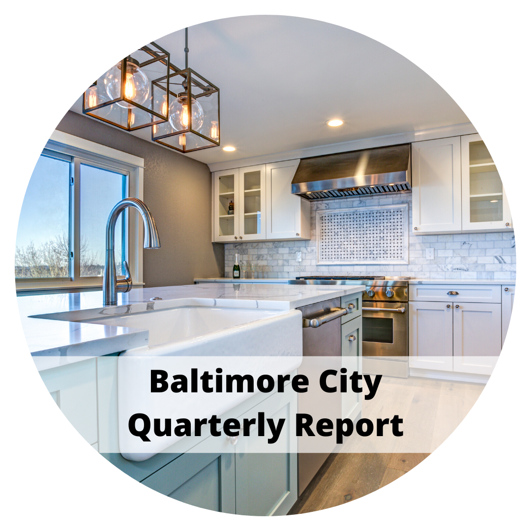 Baltimore City Quarterly Report by Sandy Bratcher of Coldwell Banker Residential Brokerage