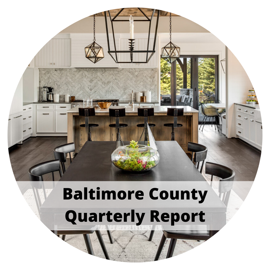 Baltimore County Quarterly Report by Sandy Bratcher of Coldwell Banker Residential Brokerage