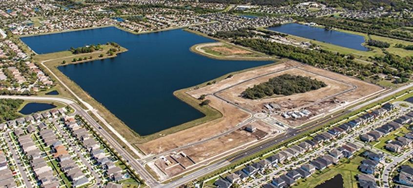 Crestview Lakes Aerial