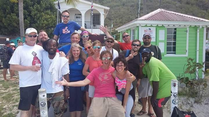Groups of Guests on a Mission happy with the Results