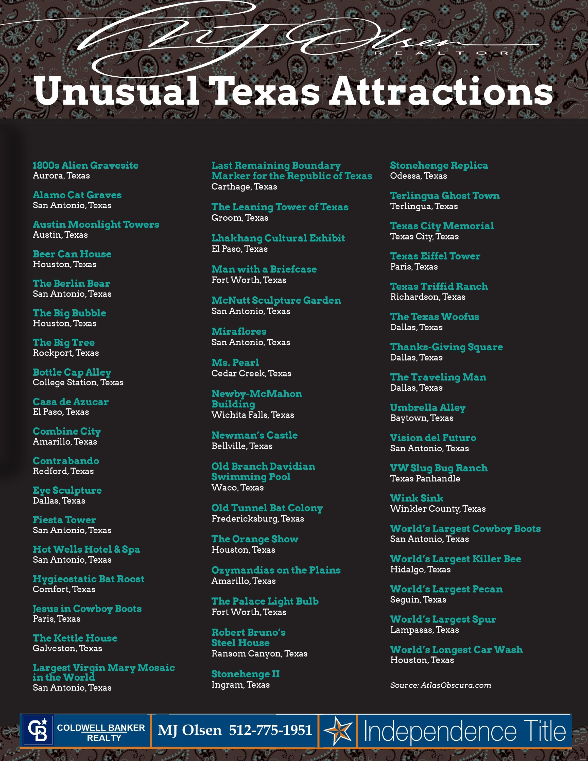 Texas attractions