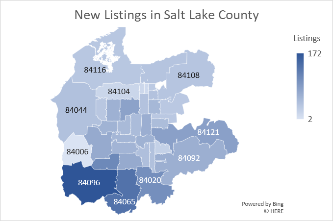 Salt Lake County March 2020 New Listings