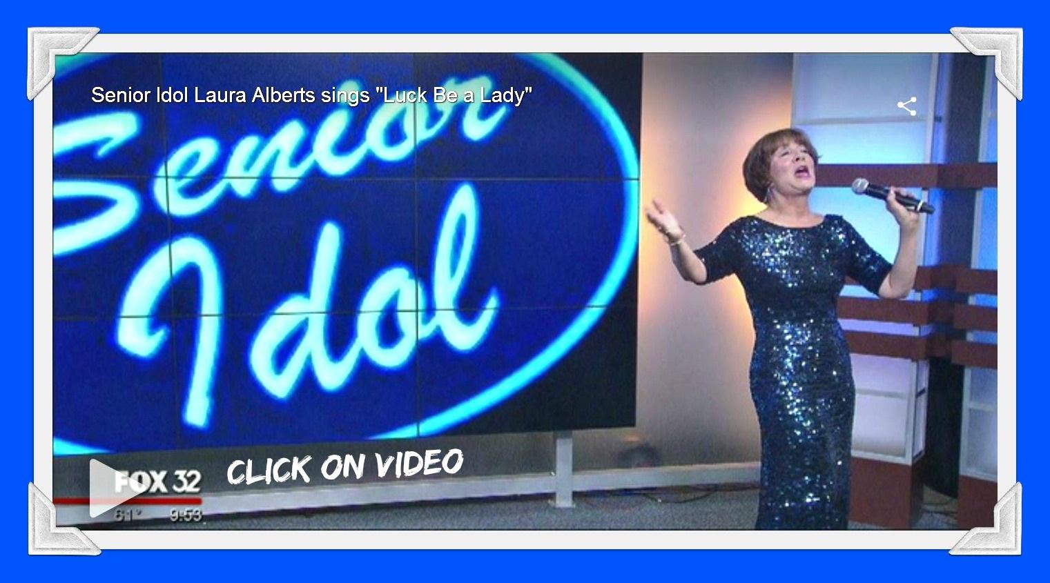 Laura Senior Idol on Fox 32 2016