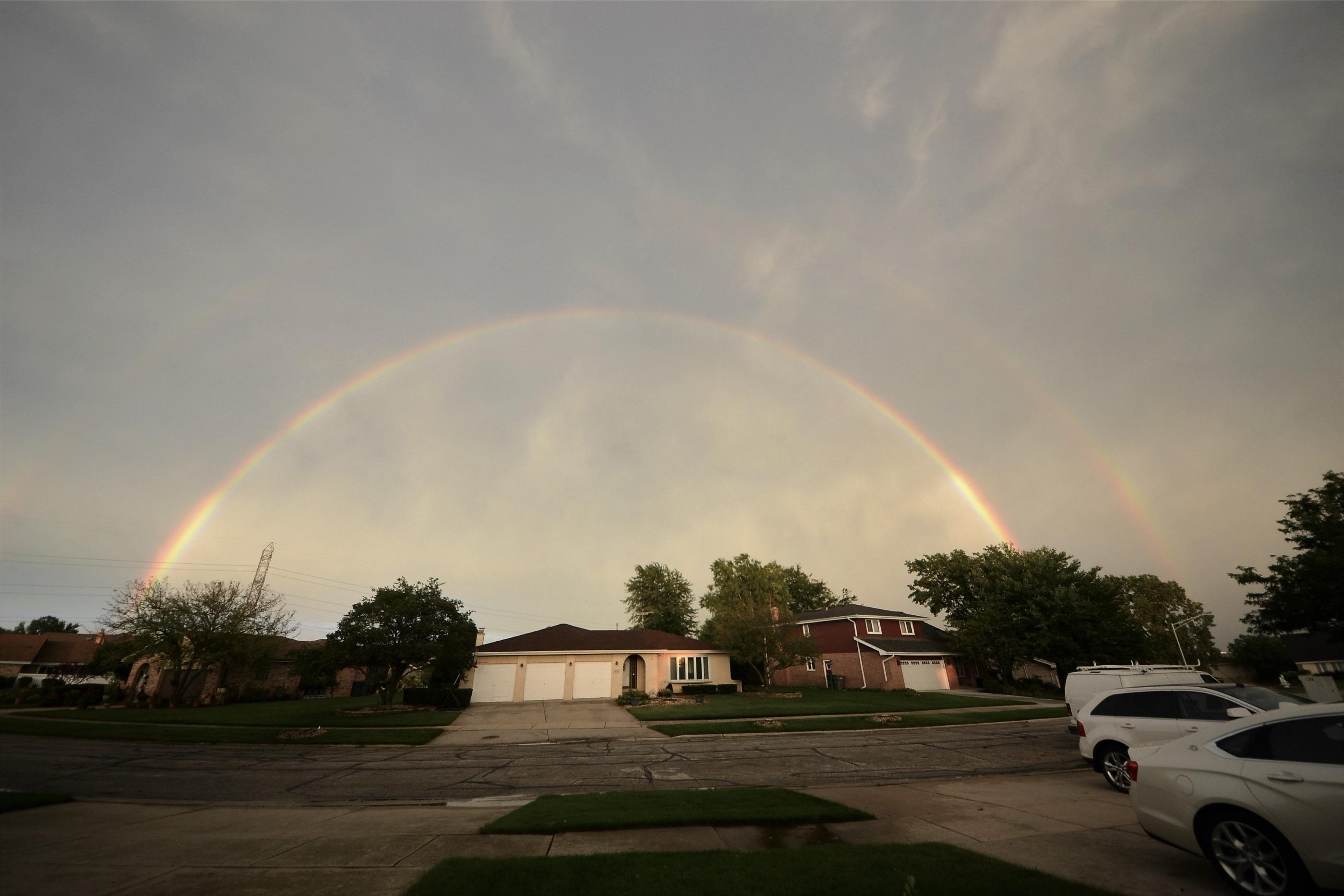 Brook Hills Double Rainbow, Orland Park IL 60462