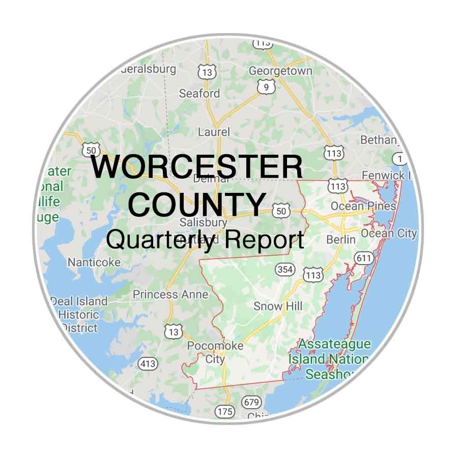 Worcester County Real Estate Quarterly Report from Christy Adkins Coldwell Banker