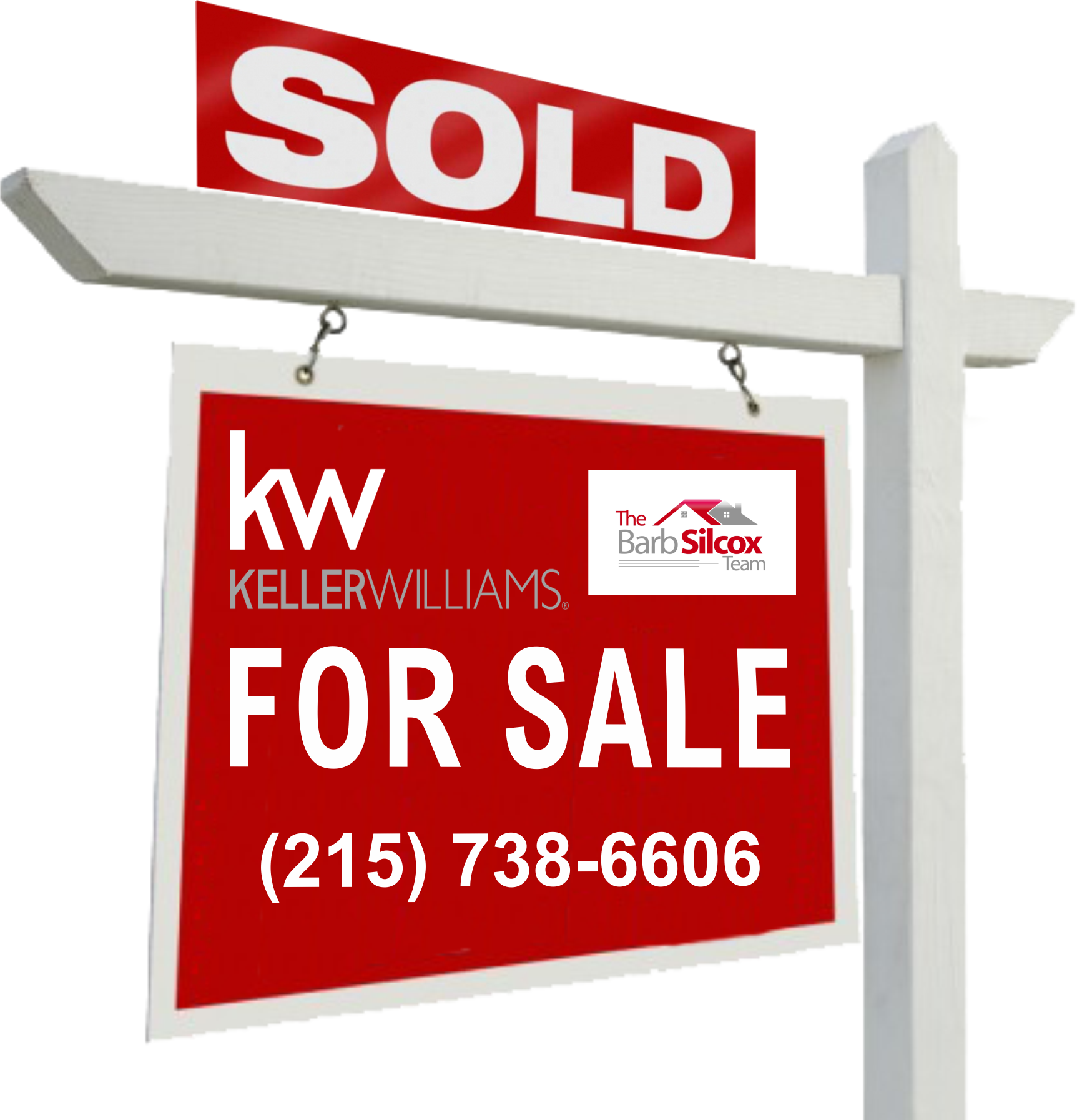 Keller Williams Sold Sign