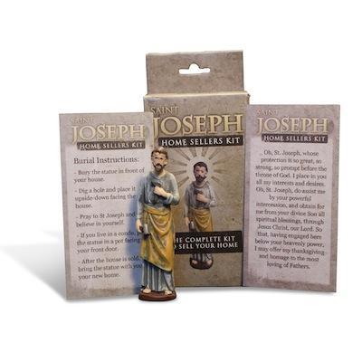 Bury A St Joseph Statue