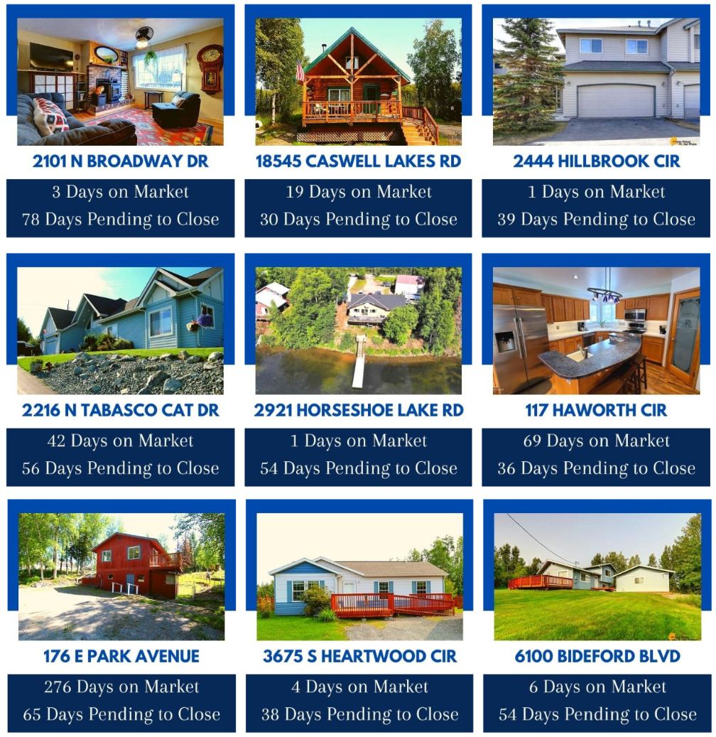 2020 sold homes -Daves Alaska Homes