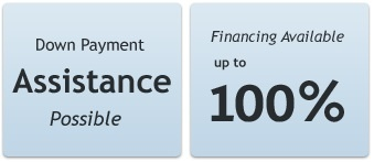 Home Purchase, Down Payment Assistance, 100% Financing
