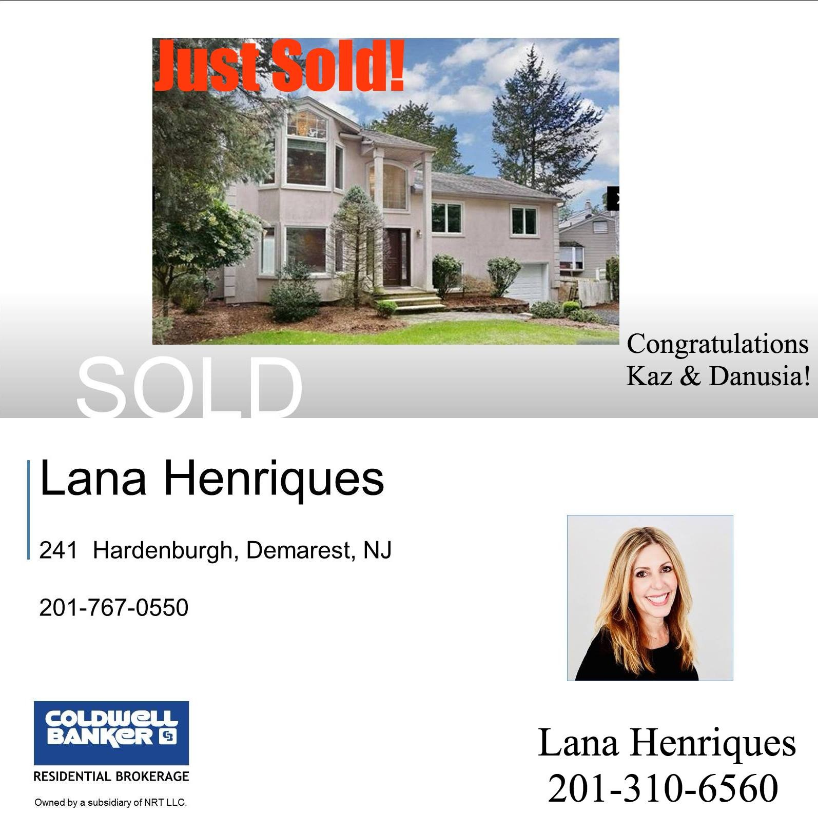 Just SOLD 241 hardenburgh for Linked to post