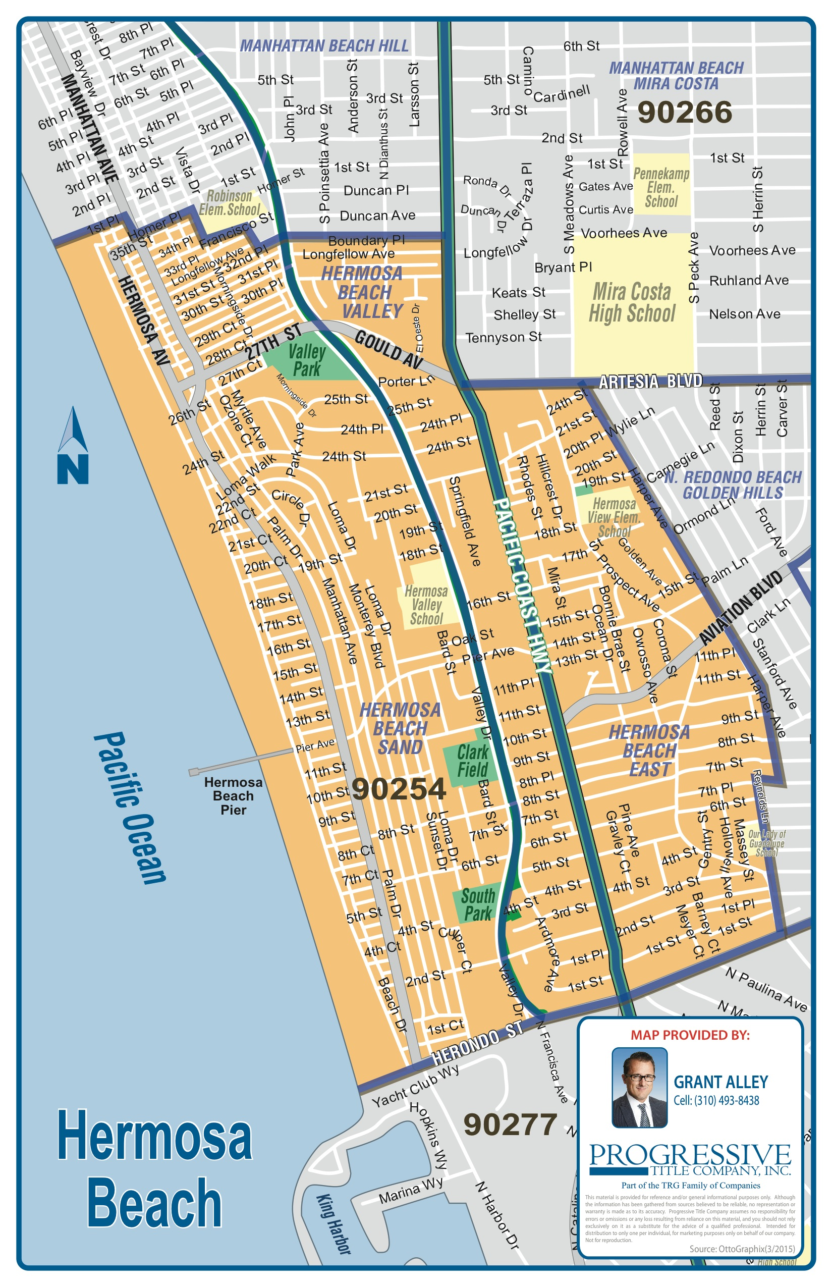 Hermosa Beach Map