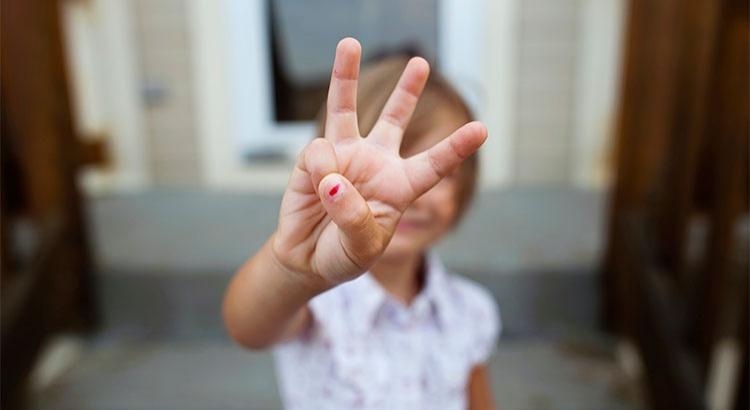 three things fingers