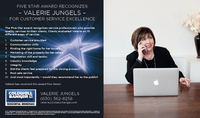 5 Star Award Valerie Jungels