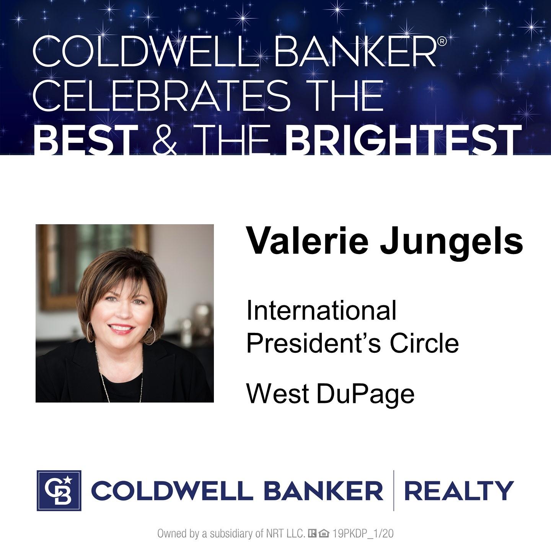Valerie Jungels - Member, International President's Circle