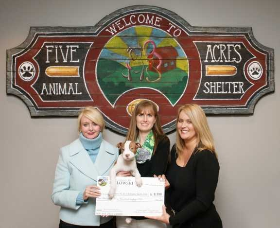 Five Acres 2014 Donation Presentation