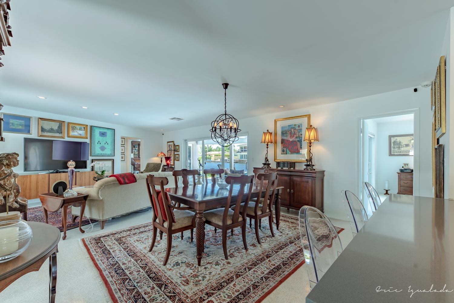 1916 Coral Shores Dr Fort Lauderdale - Living Room Photo
