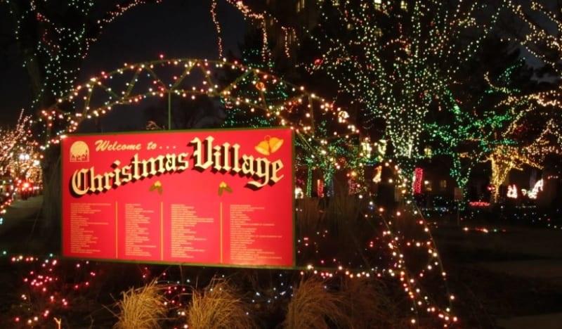 ogden christmas village 2020